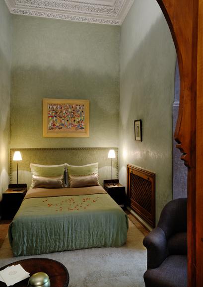 Villa nomade chambre Paul Emile Victor