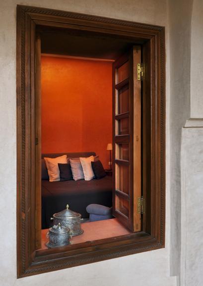 Vue de la chambre Charles de Foucauld - Villa Nomade